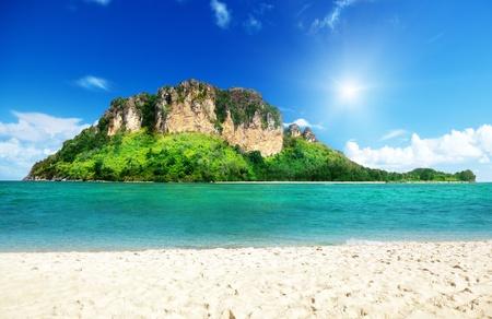 Poda island in Krabi Thailand photo