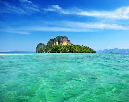 krabi: Isola di Poda in Krabi Thailand Archivio Fotografico