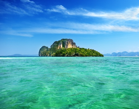 Poda island in Krabi Thailand Stock Photo