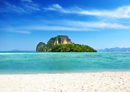 Poda island in Thailand photo