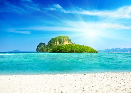 Island in Thailand Stock Photo - 9741787