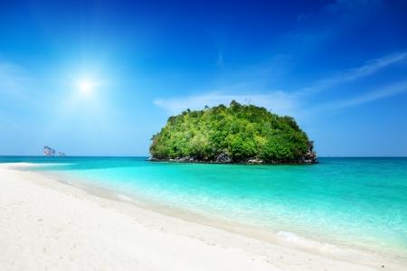 isla tropical en Tailandia