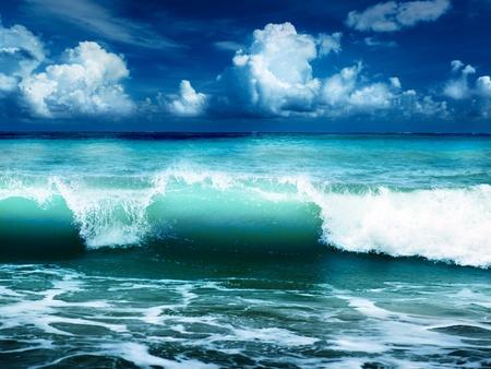 caribbean sea photo