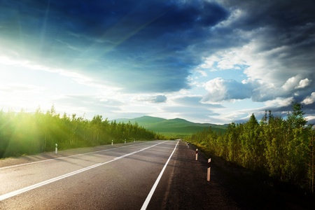 road in Russian mountains Stock Photo - 10329023