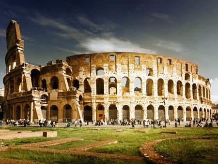 roma antigua: Coliseo de Roma, Italia Foto de archivo
