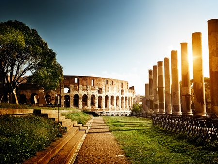 Colosseum in Rome, Italy Stock Photo - 12016531