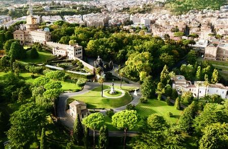 vatican: Vatican Gardens, Rome  Stock Photo