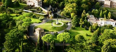 vatican city: Vatican Gardens, Rome  Stock Photo