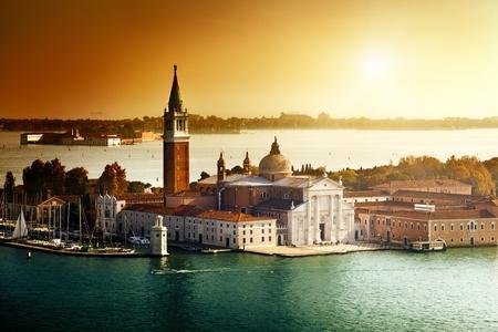 view of San Giorgio island, Venice, Italy  photo