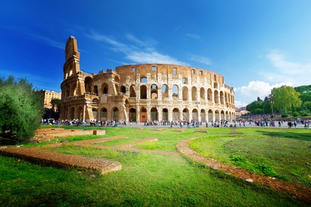 colosseum: Colosseum in Rome, Italy
