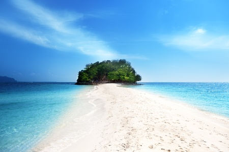 island in Krabi Thailand Stock Photo