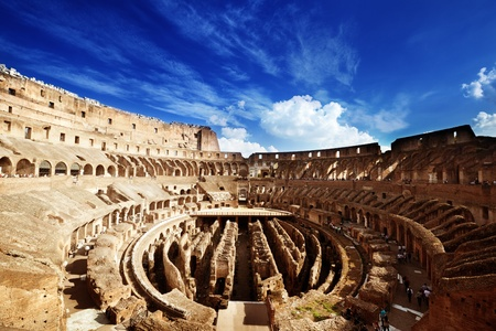 inside of Colosseum in Rome, Italy Stock Photo - 12755203