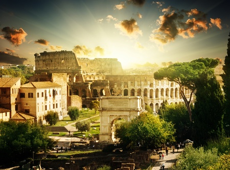 Colosseum in Rome, Italy Stock Photo - 12708644