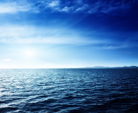 Caribbean sea and perfect sky Reklamní fotografie - 13494647