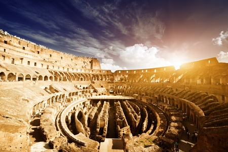 inside of Colosseum in Rome, Italy Stock Photo - 13546542