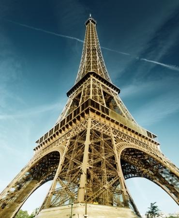 エッフェル塔, パリ, フランス 写真素材