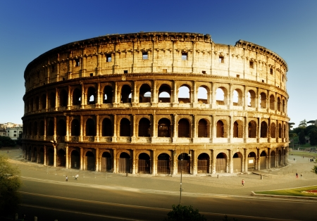 gladiator: Colosseum in Rome, Italy