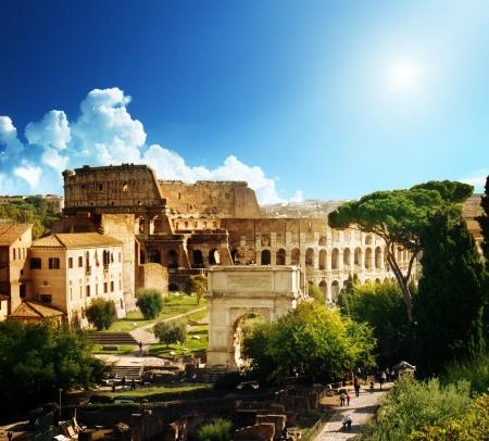 colosseum: Colosseum in Rome, Italy