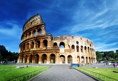 Colosseum in Rome, Italy Stock Photo - 14939038