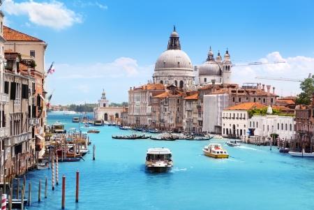 maria: Grand Canal and Basilica Santa Maria della Salute, Venice, Italy