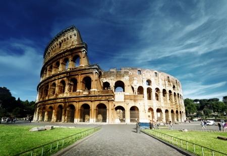 Colisée à Rome, Italie Éditoriale
