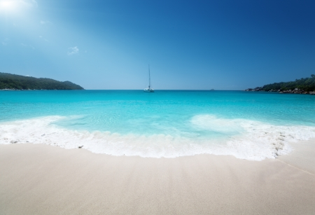 Anse Lazio beach on Praslin island in Seychelles  Stock Photo - 16113516