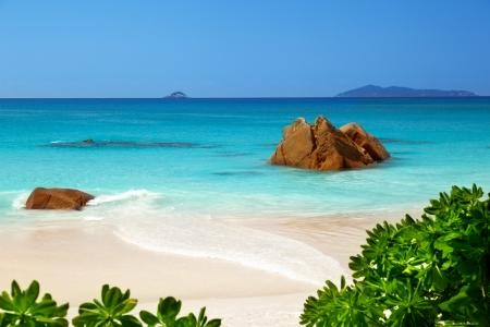 lazio: Anse Lazio beach on Praslin island in Seychelles