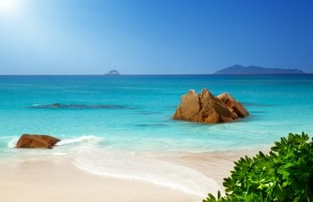 anse: Anse Lazio beach on Praslin island in Seychelles
