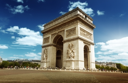triumphal: Arc de Triomph Paris, France