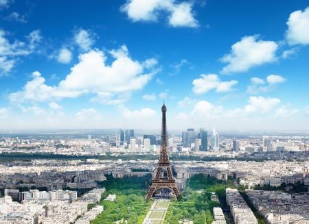 eiffel tower: Eiffel tower in Paris, France