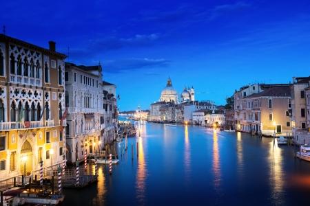 italian architecture: Grand Canal and Basilica Santa Maria della Salute, Venice, Italy