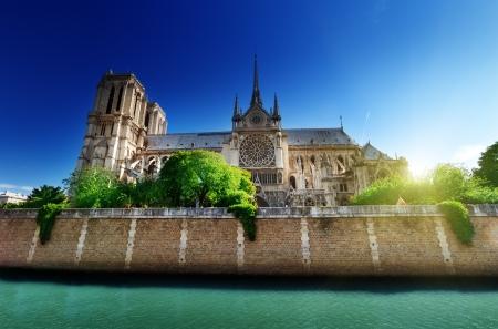 dame: Notre Dame  Paris, France  Stock Photo