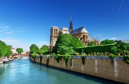 notre: Notre Dame  Paris, France  Stock Photo