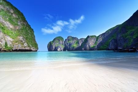 morning time at  Maya bay, Phi Phi Leh island,Thailand Stock Photo - 18124628