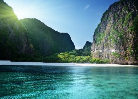 morning time at  Maya bay, Phi Phi Leh island,Thailand Stock Photo - 18226508