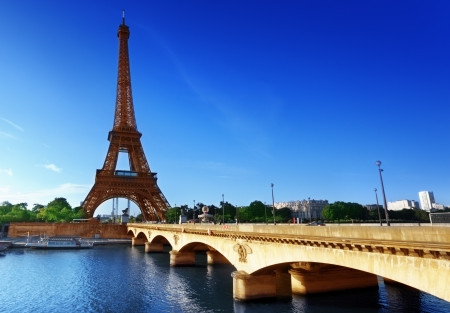 Eiffel tower, Paris  France Stock Photo - 19086525