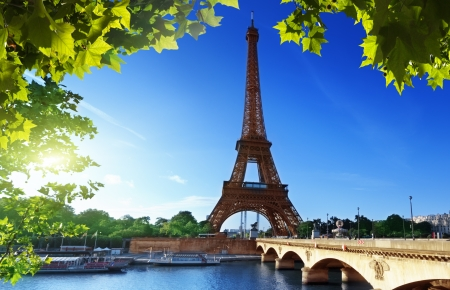Eiffel tower, Paris  France Stock Photo