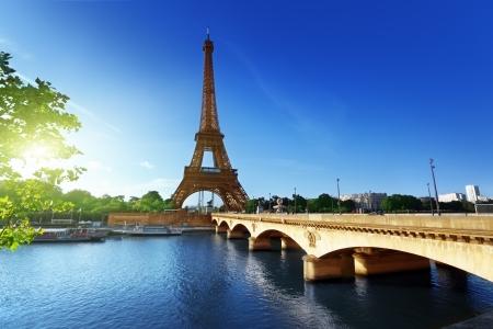 Eiffel tower, Paris. France Stock Photo
