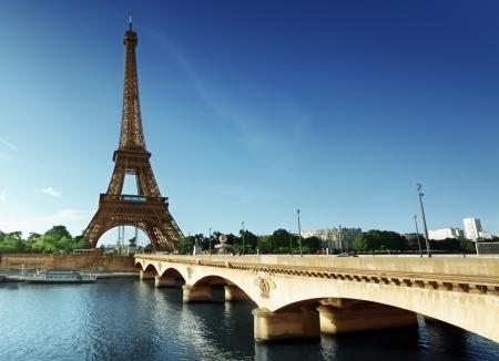 seine: Eiffeltoren, Parijs. Frankrijk