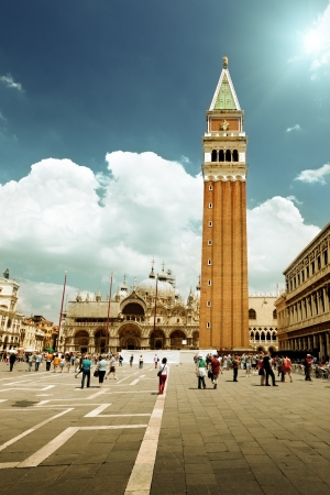 piazza san marco: San Marco Square, Venice, Italy