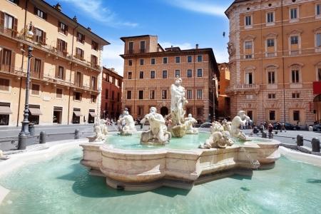 piazza: Piazza Navona, Rome. Italy