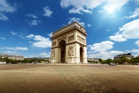 triumphe: Arc de Triumph, Paris  Editorial