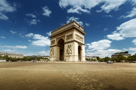 Arc de Triomphe: Arc de Triumph, Paris  Stock Photo