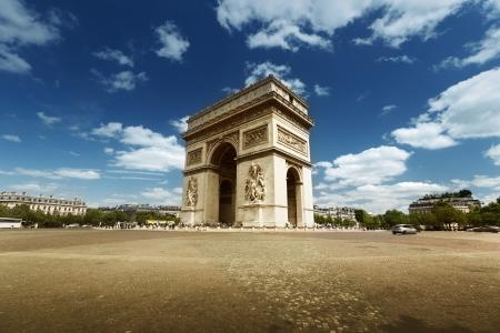 Arco di Trionfo, Parigi Archivio Fotografico - 22701438
