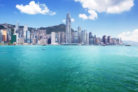 Hong Kong harbour Stock Photo - 22701506