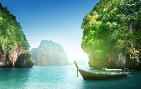 fabled landscape of Thailand photo