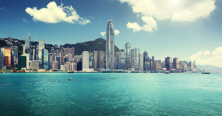 Hong Kong harbour  photo