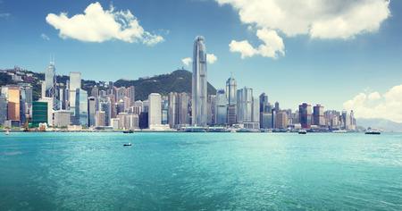Hong Kong harbour Stock Photo - 25909196