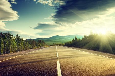 山の道 写真素材 - 27343285