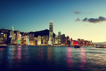 Skyline of Hong Kong photo